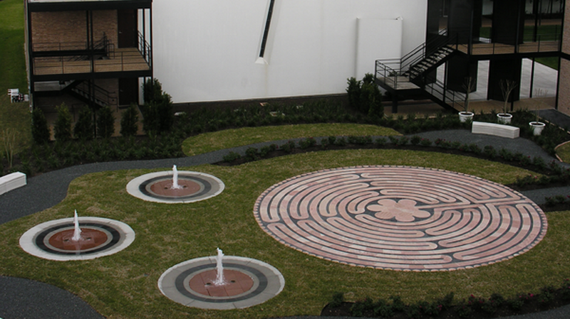 11 Gueymard Meditation Garden (University of St. Thomas)